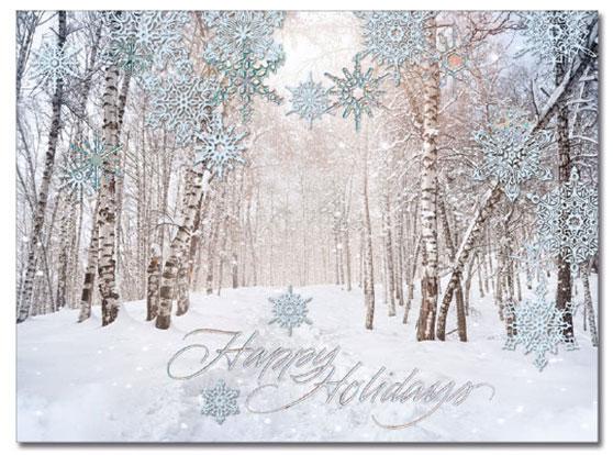 Winter Path Card   Cardplant