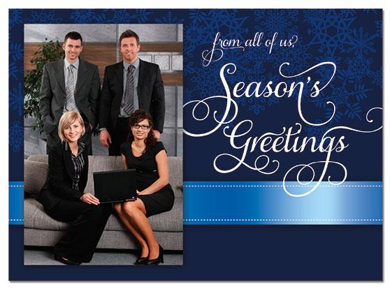 Corporate Seasons Photo Card   Cardplant