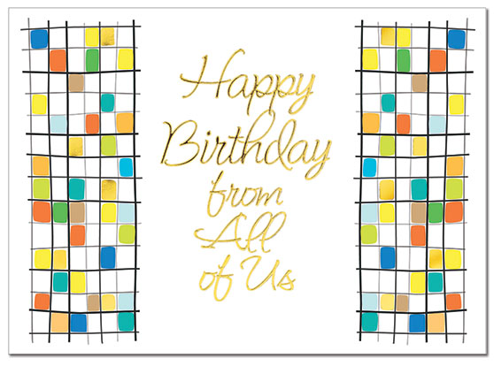 Birthday From All Card | Cardplant