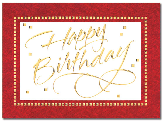 Elegant Birthday Card   Cardplant