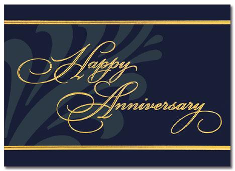 Corporate Anniversary Card
