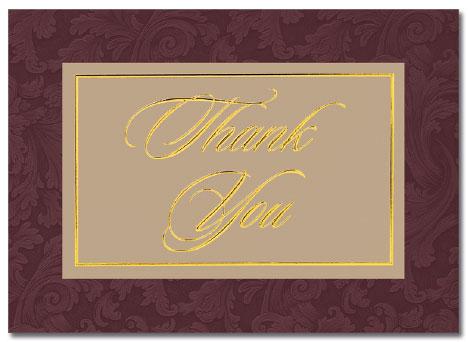 Executive Thank You Card