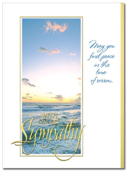 Sympathy Scene Card