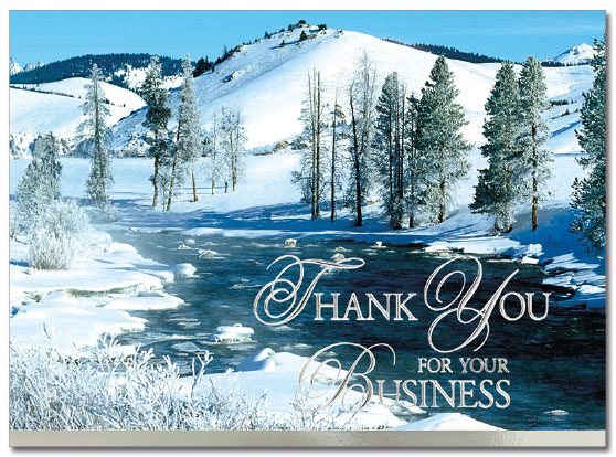 Scenic Business Thank You