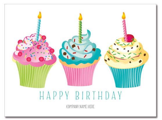 Cupcakes Logo Card