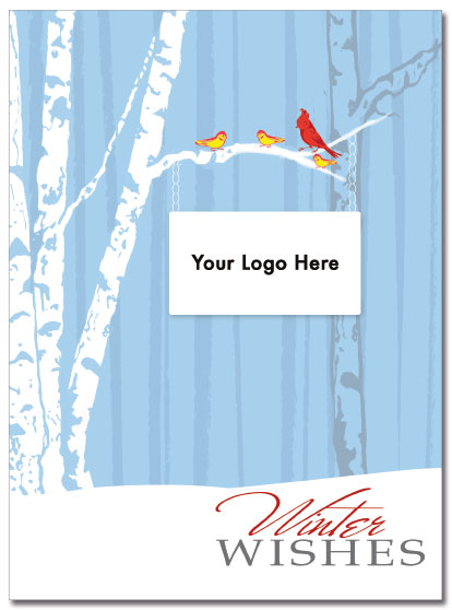 Birch Trees Logo Card | Cardplant