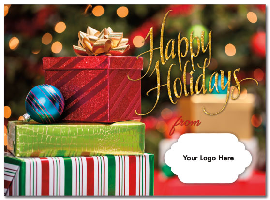Holiday Packages Logo Card