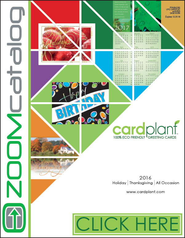 2016 Zoom Catalog | Cardplant