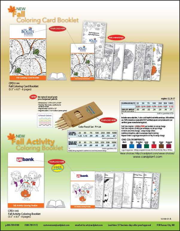 EQP Holiday Coloring Booklets P2 | Cardplant