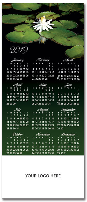 Water-Lily-Magnetic-Calendar
