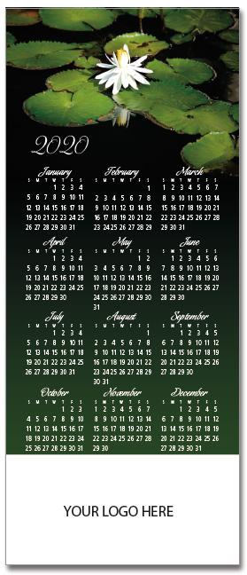 Water Lily Mini Calendar