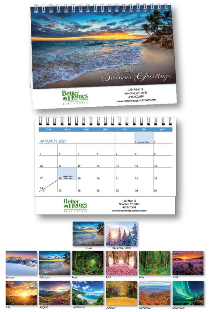 2021 Desk Calendar | Cardplant